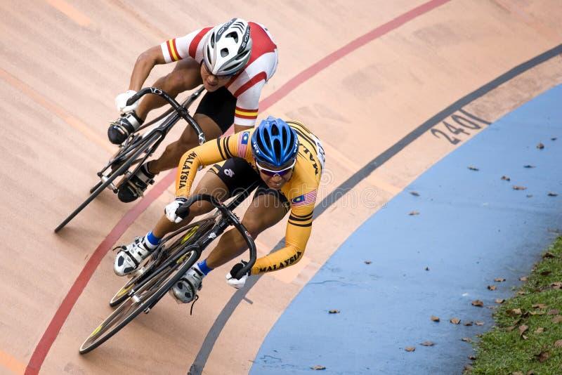 Fahrrad-Rennen lizenzfreies stockbild