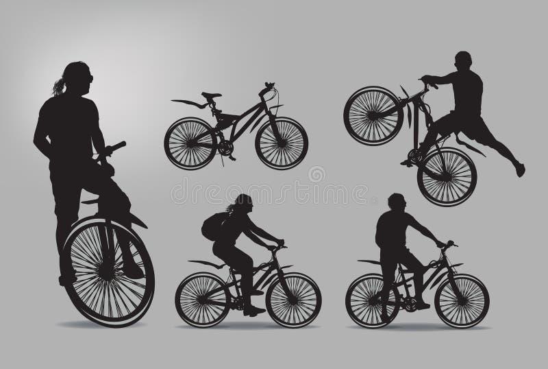 Fahrrad. Vektorillustration vektor abbildung