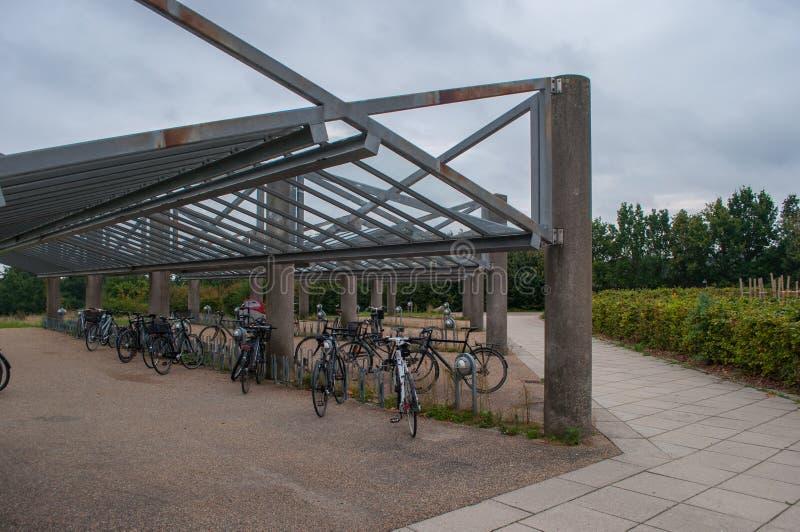 Fahrrad verschüttet in Ballerup Dänemark stockbilder