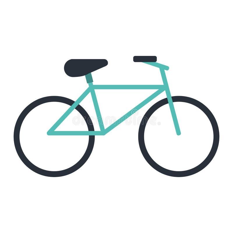 Fahrraderholungs-Transportikone lizenzfreie abbildung