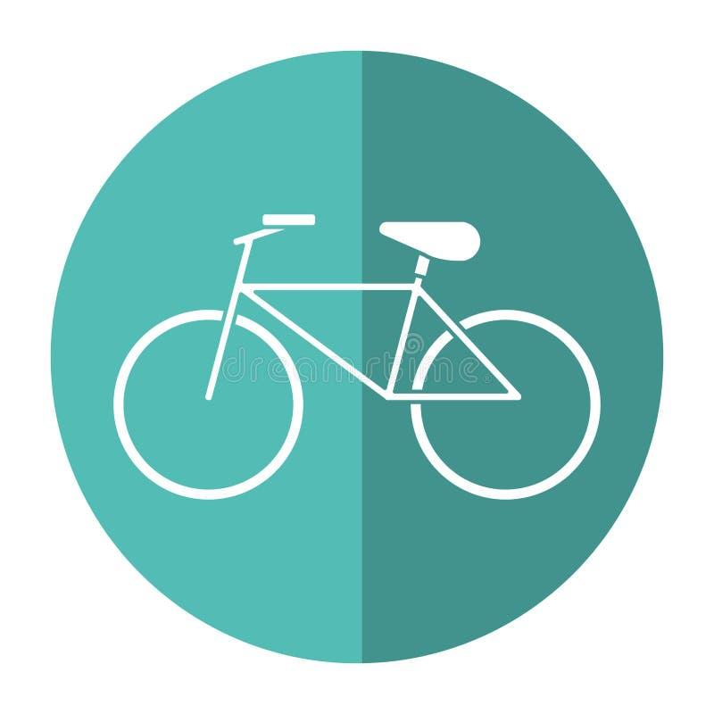 Fahrraderholungs-Transportschatten vektor abbildung