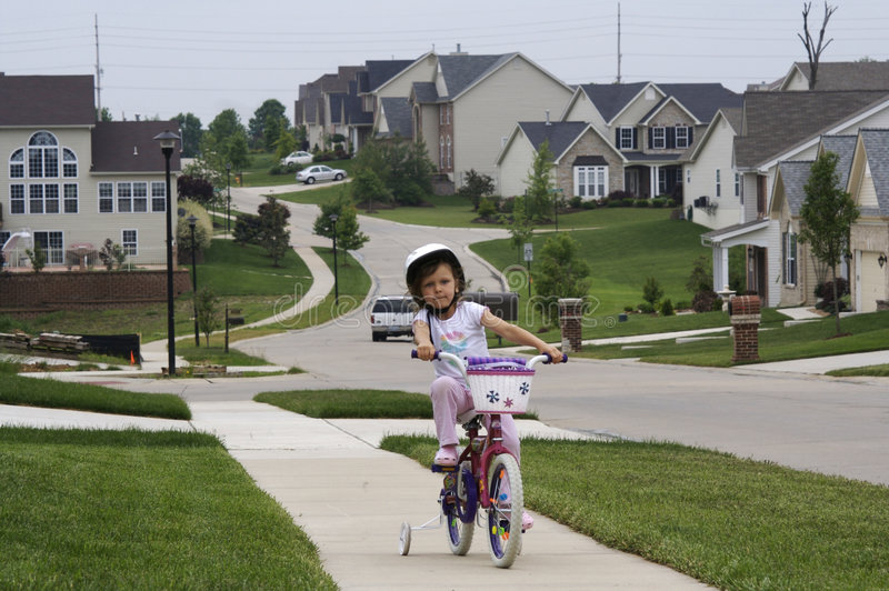 Fahrradfahrt stockfoto