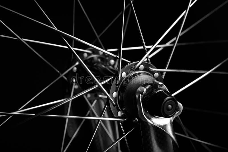 Fahrradfelge stockfoto