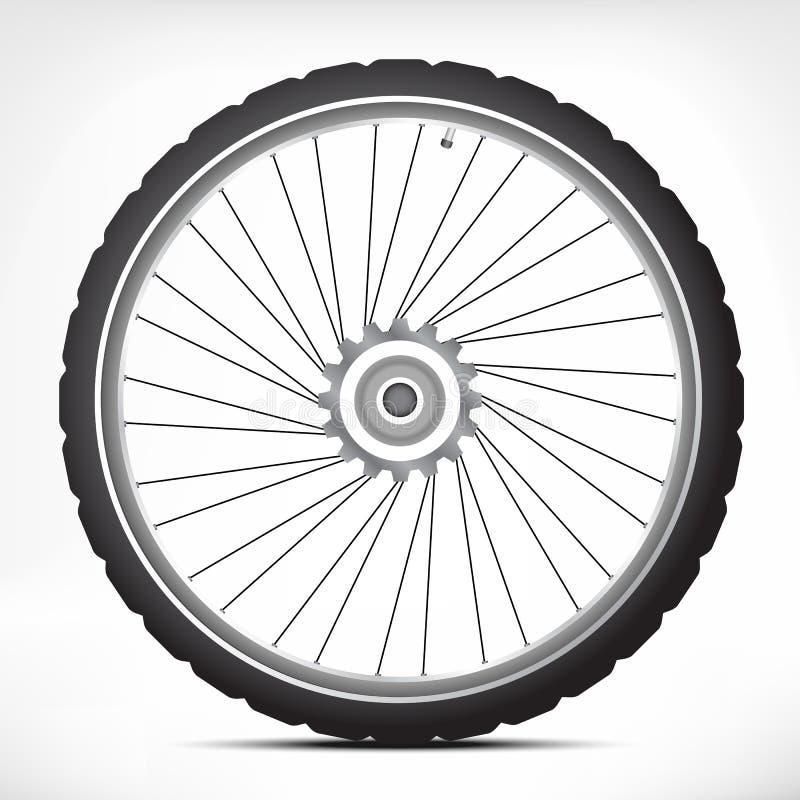 Fahrradfelge stock abbildung