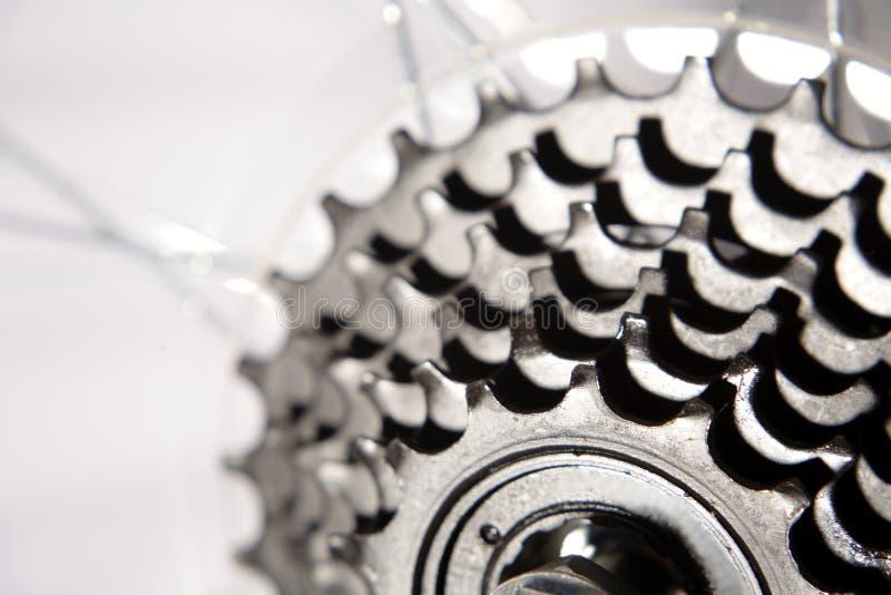 Fahrradgänge lizenzfreie stockfotos