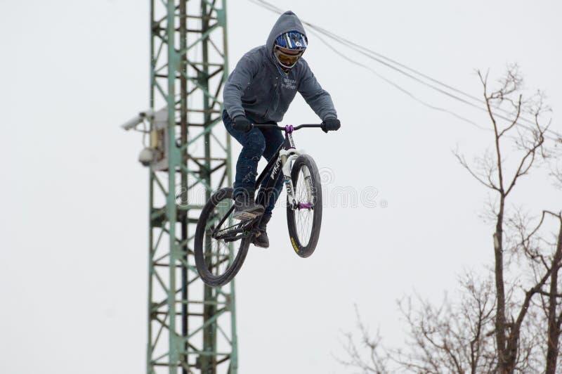 Fahrradpullover lizenzfreies stockbild