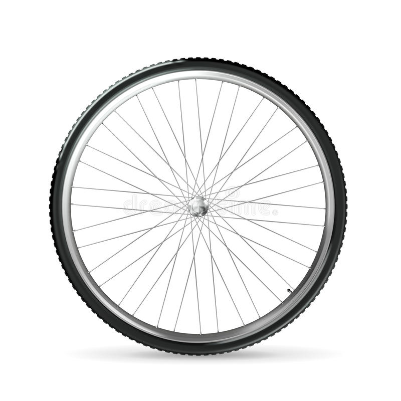 Fahrradrad vektor abbildung