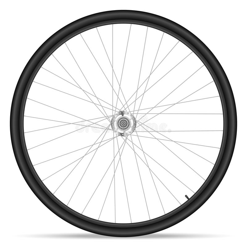 Fahrradrad stock abbildung