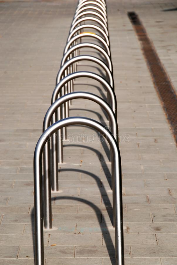 Fahrradstand stockfoto