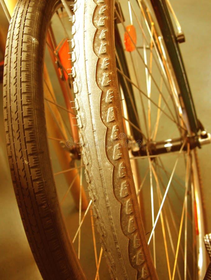 Fahrradstillstehen stockbilder