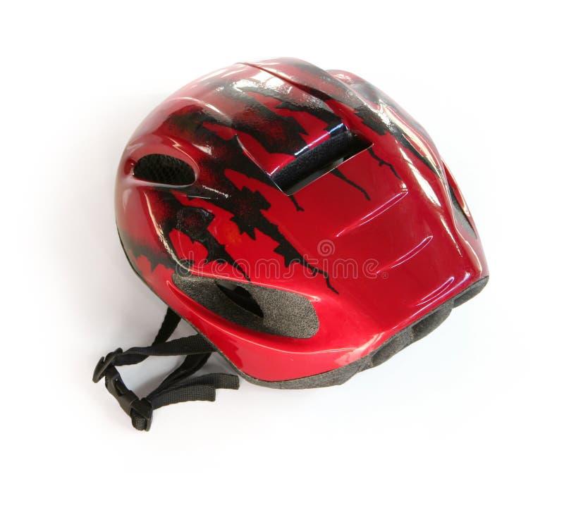 Fahrradsturzhelm stockfoto