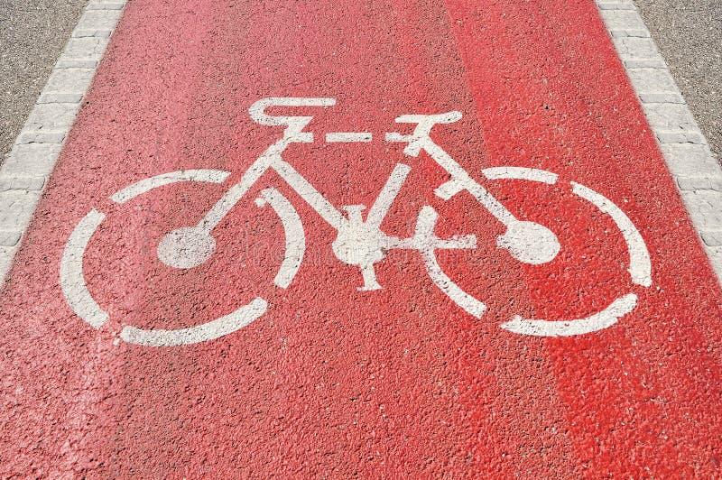 Fahrradweg lizenzfreies stockfoto