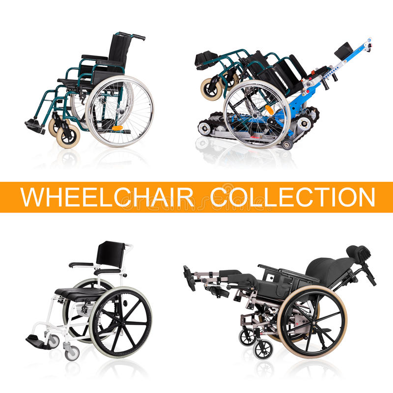 Fahrzeug für behinderte Personen. stock abbildung