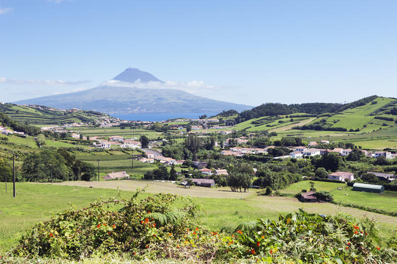 faial Azores krajobraz obrazy stock