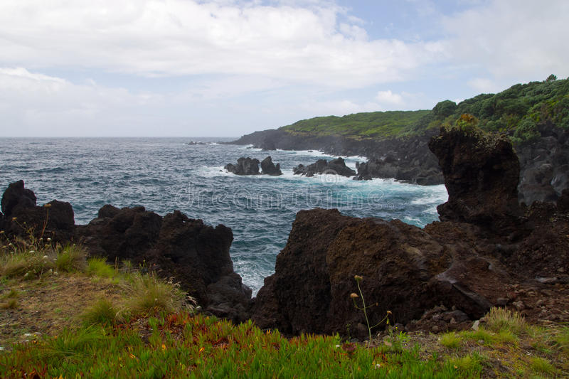 The Faial island, Azores, Portugal stock photos