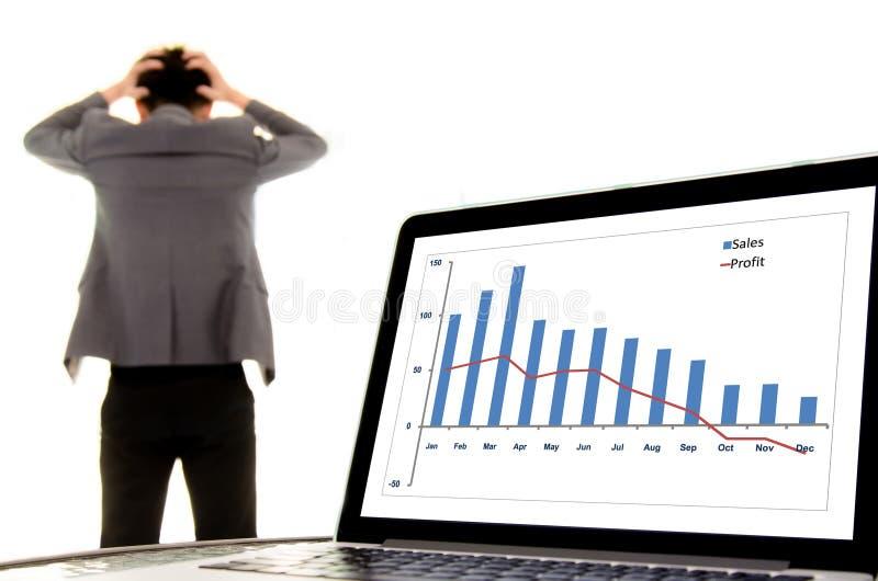 Fail business man stock photos