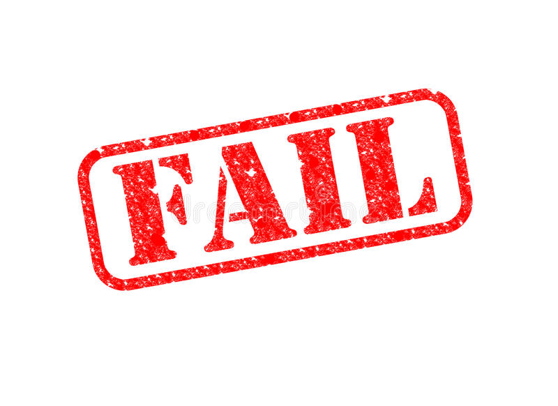 Download Fail Stamp stock illustration. Illustration of marked - 28898243