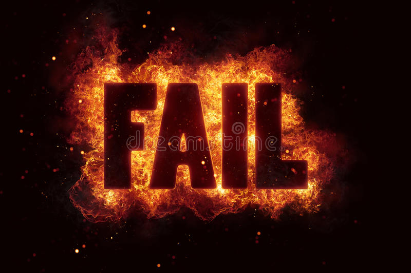 Download Fail Text Flame Flames Fire Burn Burning Explosion Stock Illustration - Illustration of lettering, business: 88728316
