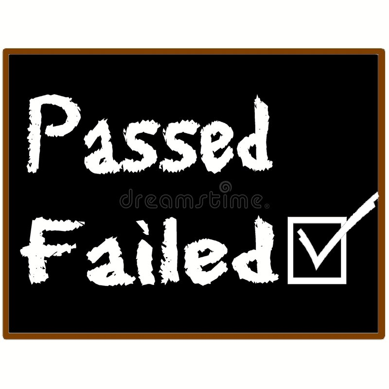 Download Failed Grade Graphic Stock Photography - Image: 3647332