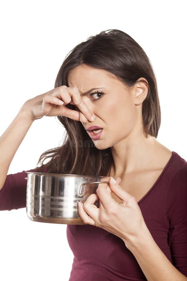 Failed meal stock image