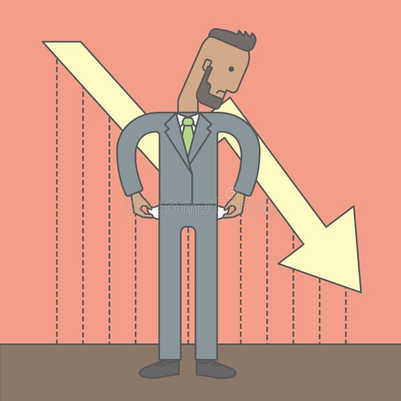 Faillissement stock illustratie