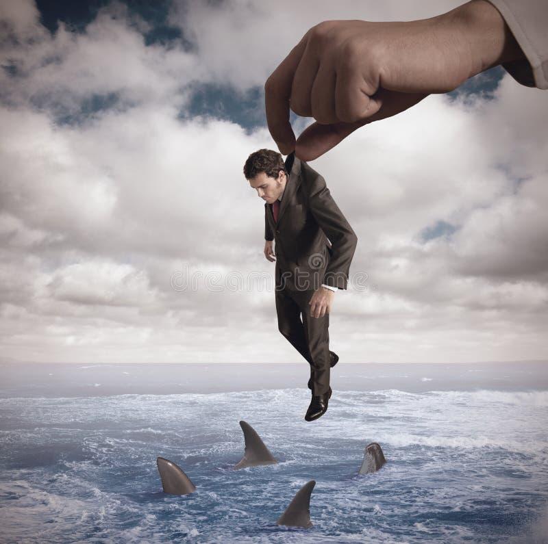 Failure. Concept of failure of a businessmamn