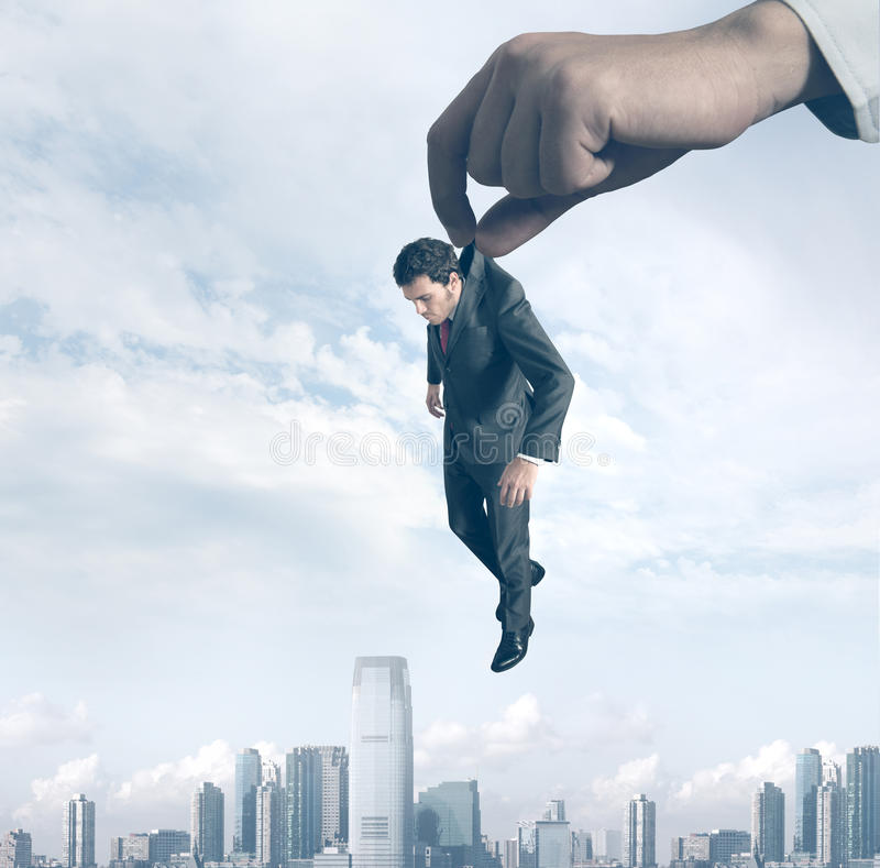 Download Failure Of A Businessman Royalty Free Stock Photography - Image: 26739917