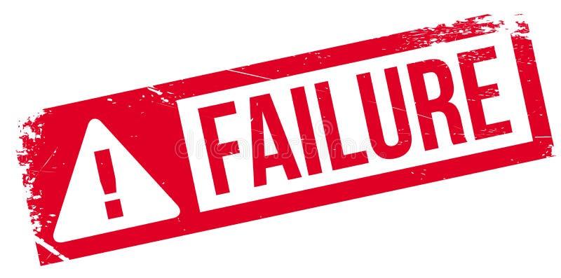 Failure stamp rubber grunge royalty free illustration