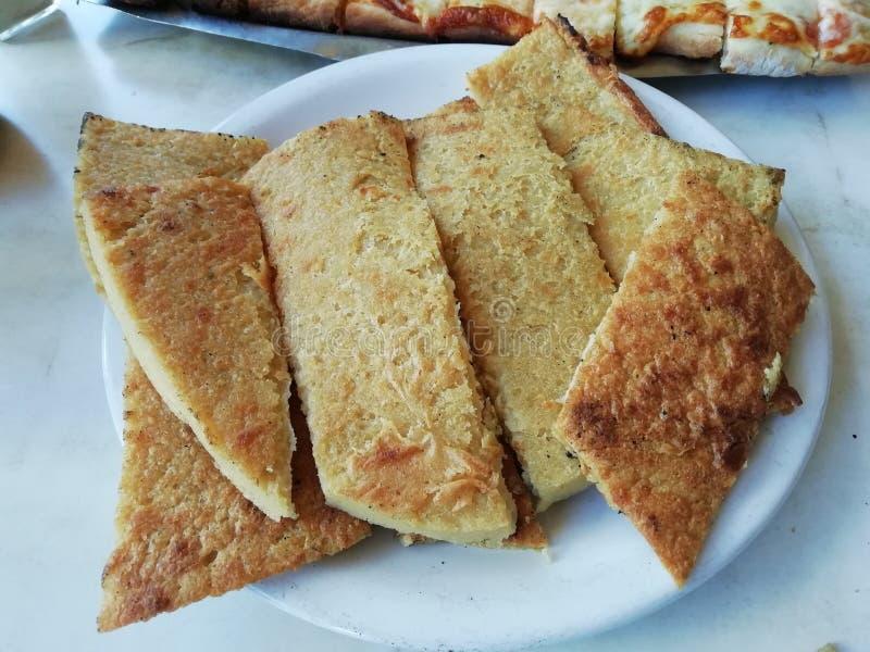 Faina platta för matställe eller lunch arkivfoto