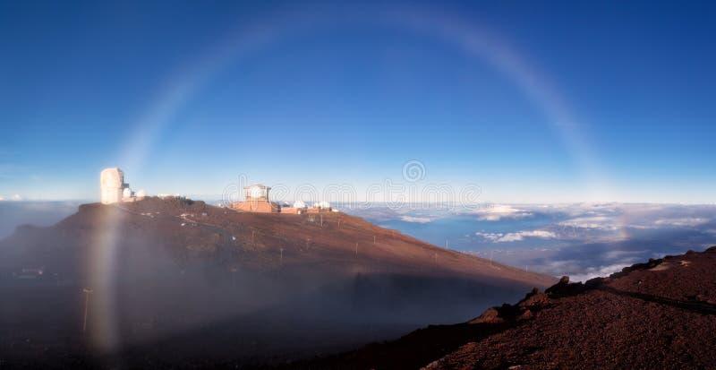 Haleakala on Maui stock photography