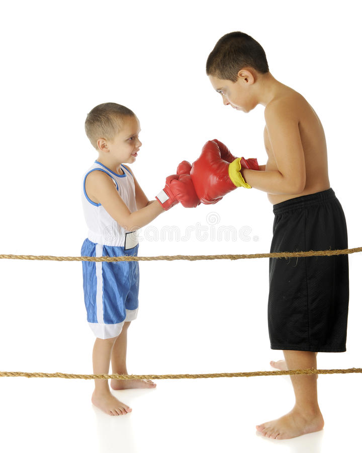 A Fair Fight? Stock Image