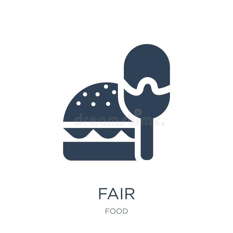 Fair icon in trendy design style. fair icon isolated on white background. fair vector icon simple and modern flat symbol for web. Site, mobile, logo, app, UI stock illustration