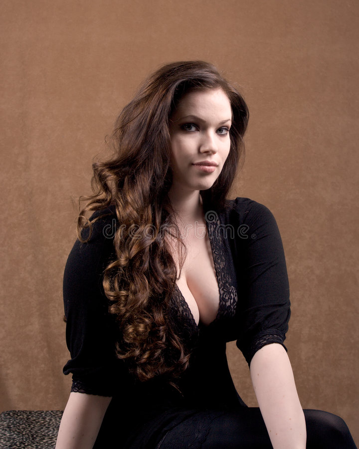 Fair skinned beauty stock photo