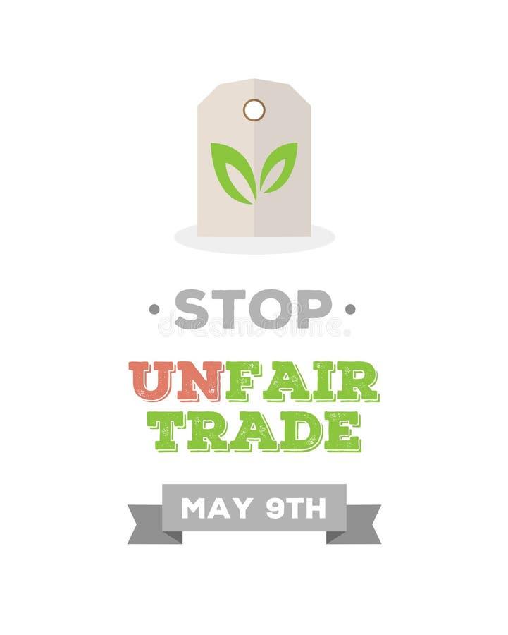 Fair Trade day vector. Digitally generated Fair Trade day vector stock illustration