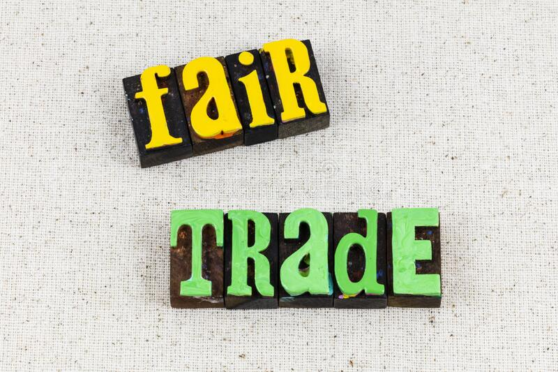 Fair trade wage consumer protection product price. Fair trade wage consumer protection for product price is not free.  Protect employee worker with business royalty free stock photos