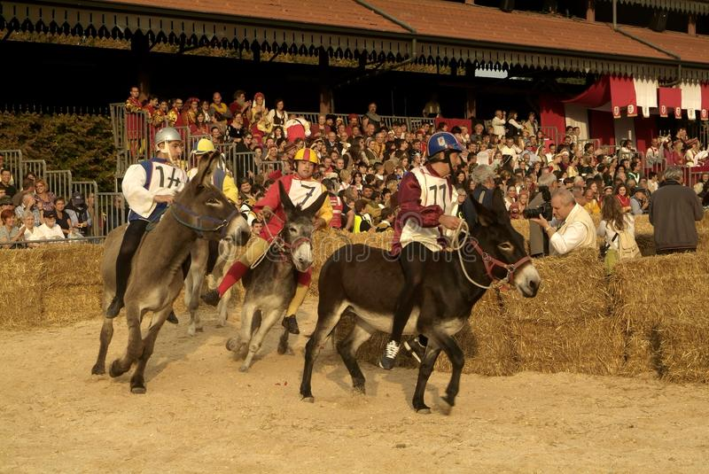 Download Fair And White Truffle Of Alba Donkey Race. Editorial Stock Image - Image: 27019879