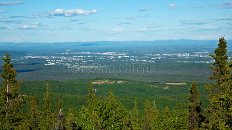 Fairbanks, Alaska immagini stock libere da diritti