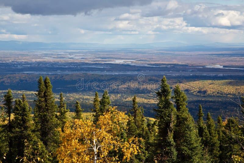 Fairbanks en caída imagen de archivo libre de regalías