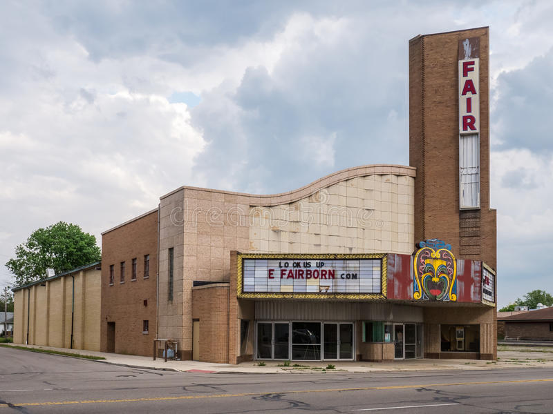 Fairborn teater arkivbild