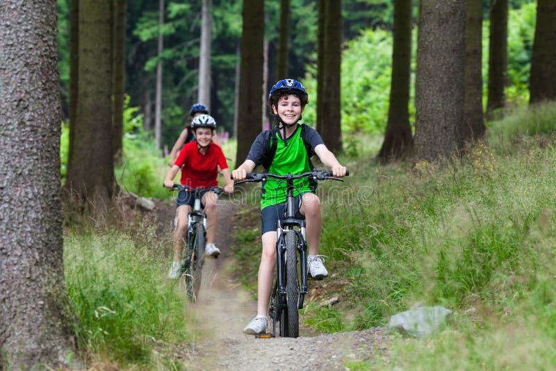 faire du vélo de famille photographie stock