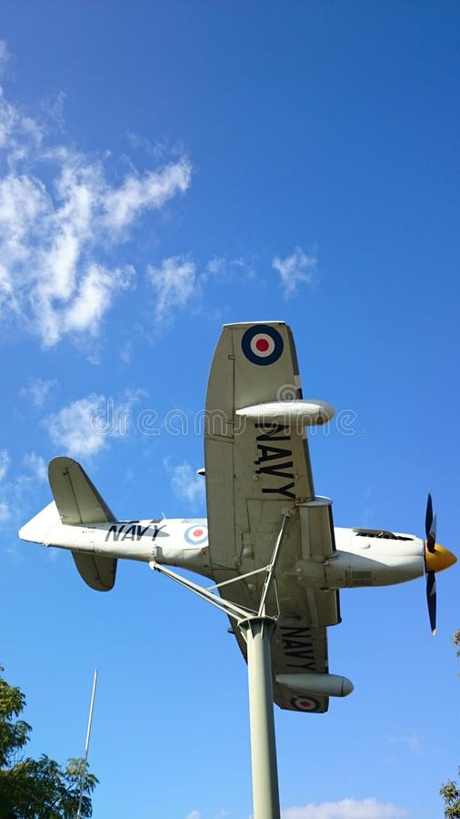 Fairey-Leuchtkäfer @ Griffith Australia lizenzfreies stockbild