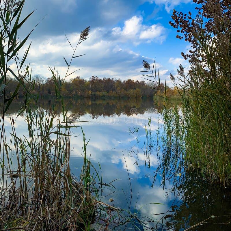 Fairfield jeziora obraz royalty free