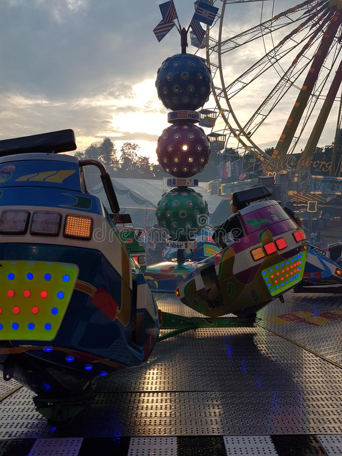 fairground zdjęcie stock