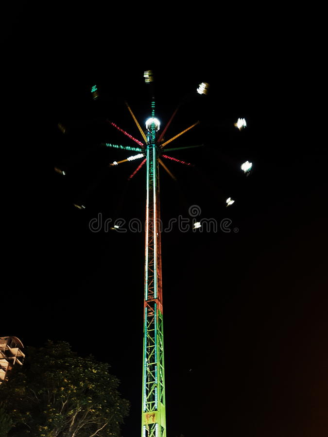 Fairground attraction stock photos