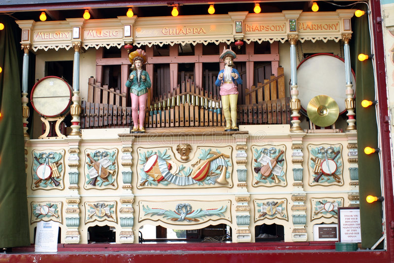 Download Fairground Music Organ stock photo. Image of music, carvings - 19674
