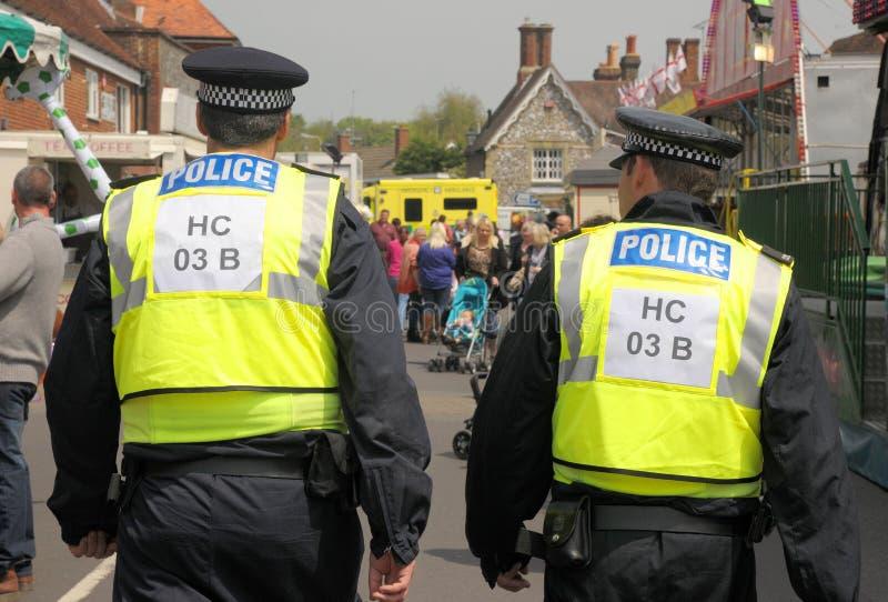 Fairground Police Patrol Editorial Photography