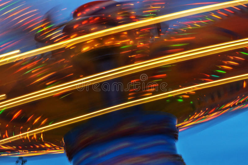 Fairground Ride stock photography