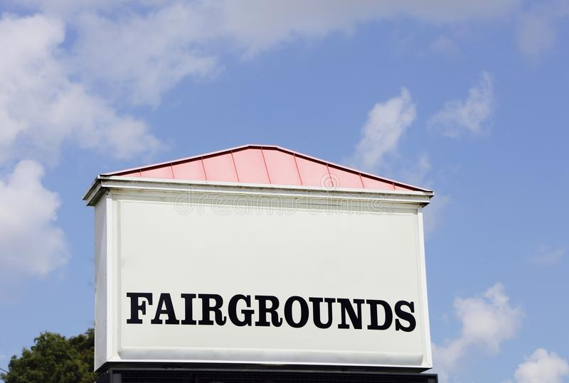fairgrounds photo libre de droits