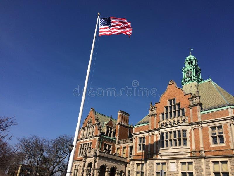 Fairhaven Hoge school royalty-vrije stock fotografie