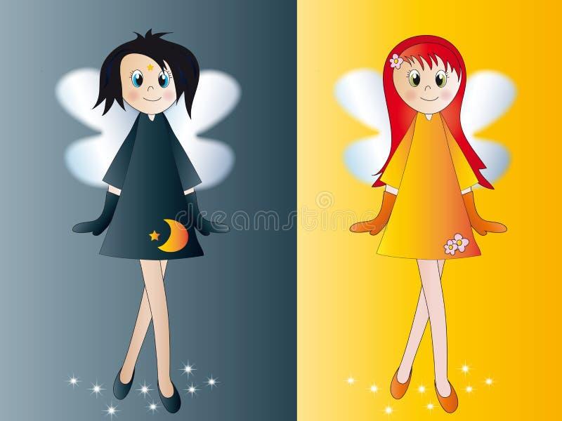 Download Fairies stock illustration. Illustration of painting - 12217430